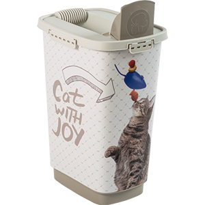 4001910534-Rotho-My-Pet-Cody-Pet-Food-Container-25-l-Cat-With-Joy-open