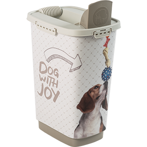 4001910535-Rotho-My-Pet-Cody-Pet-Food-Container-25-l-Dog-With-Joy-open