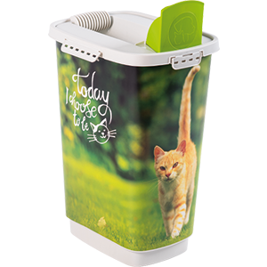 4001910538-Rotho-My-Pet-Cody-Pet-Food-Container-25-l-Cat-Today-I-Choose-open