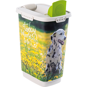 4001910539-Rotho-My-Pet-Cody-Pet-Food-Container-25-l-Dog-Today-I-Choose-open